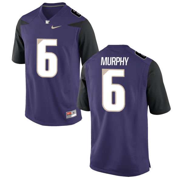 Youth Nike Byron Murphy Washington Huskies Replica Purple Football Jersey