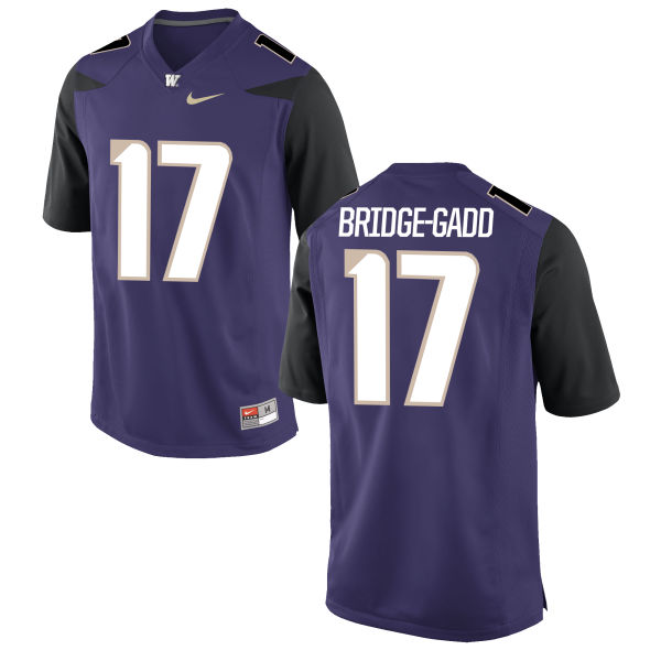 Women's Nike Daniel Bridge-Gadd Washington Huskies Limited Purple Football Jersey