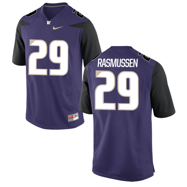 Women's Nike Josh Rasmussen Washington Huskies Replica Purple Football Jersey