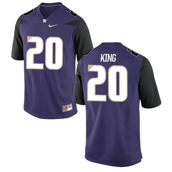 Youth Nike Kevin King Washington Huskies Game Purple Football Jersey