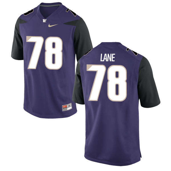 Men's Nike Luke Lane Washington Huskies Authentic Purple Football Jersey