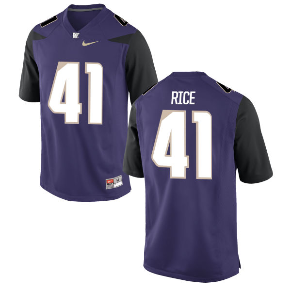 Youth Nike Myles Rice Washington Huskies Authentic Purple Football Jersey