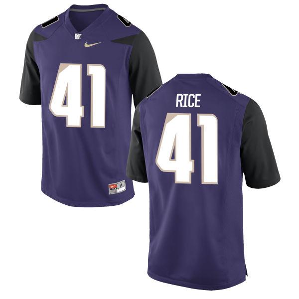 Youth Nike Myles Rice Washington Huskies Limited Purple Football Jersey