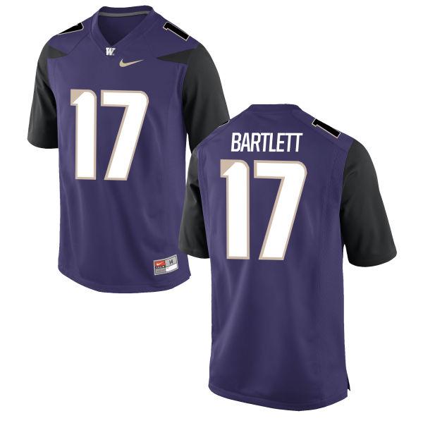 Youth Nike Tevis Bartlett Washington Huskies Game Purple Football Jersey