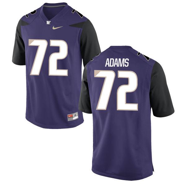 Women's Nike Trey Adams Washington Huskies Game Purple Football Jersey