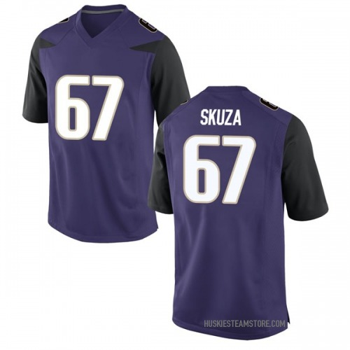 Men's Nike Chase Skuza Washington Huskies Game Purple Football College Jersey