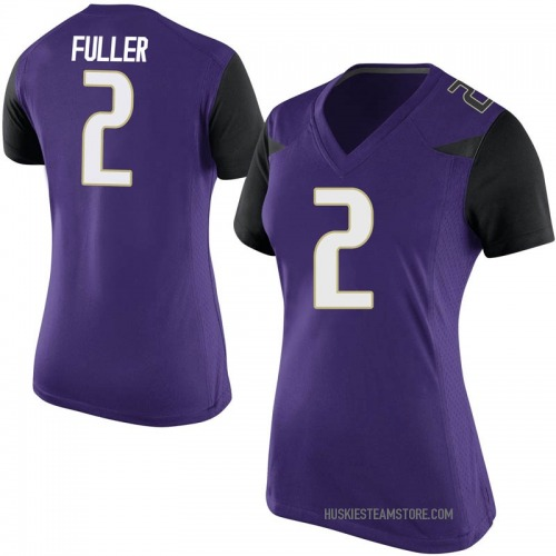 Women's Nike Aaron Fuller Washington Huskies Game Purple Football College Jersey