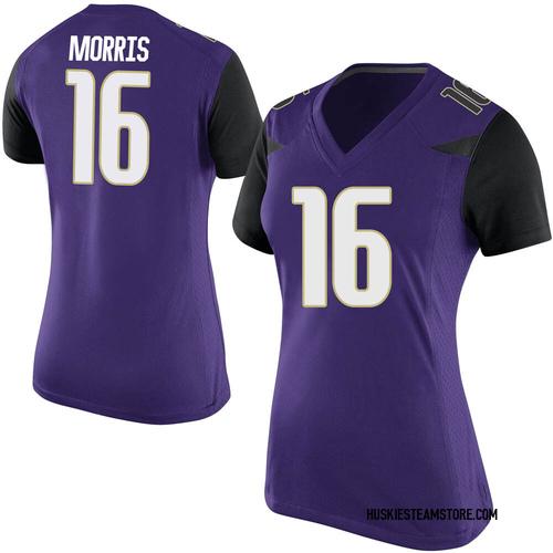 Women's Nike Dylan Morris Washington Huskies Game Purple Football College Jersey