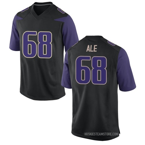 Youth Nike M.J. Ale Washington Huskies Game Black Football College Jersey