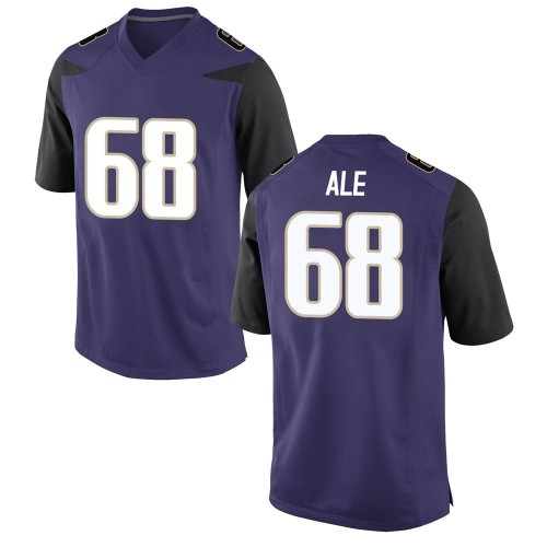 Youth Nike M.J. Ale Washington Huskies Game Purple Football College Jersey