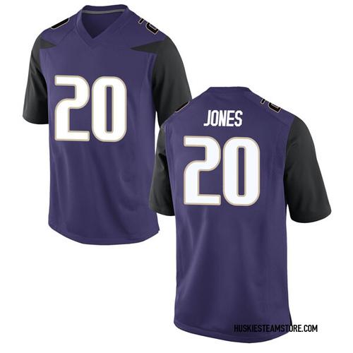 Youth Nike Ty Jones Washington Huskies Game Purple Football College Jersey